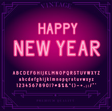 Happy New Year Holiday. Bright...