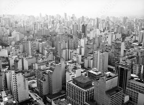 Vista de São Paulo Fototapeta