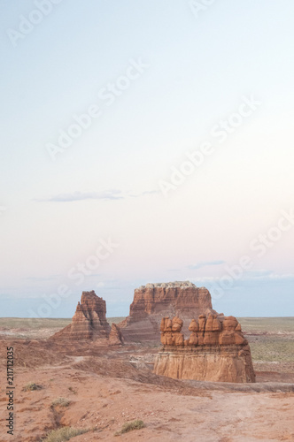 Foto op Aluminium Zalm Utah Sandstone