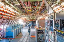 Inside The Aircraft Under Test The Equipment Is Salon Equipment Mechanisms.
