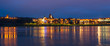 Panoramic view of old town of Grudziadz. Poland, Europe.