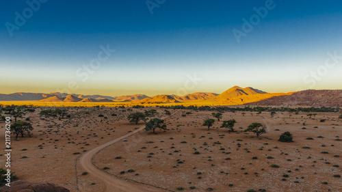 Fotobehang Zandwoestijn Namibia