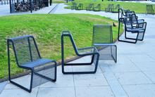 Metalowe Fotele W Przestrzeni ...