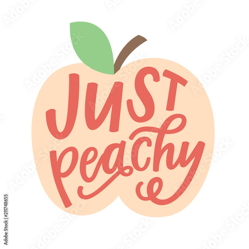 Stampa su Tela Just Peachy