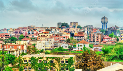 Skyline of Bordj El Kiffan in Algeria