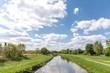 canvas print picture - Fluss Hase in Niedersachsen, Deutschland
