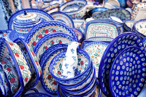 Blue Ceramics Dishes