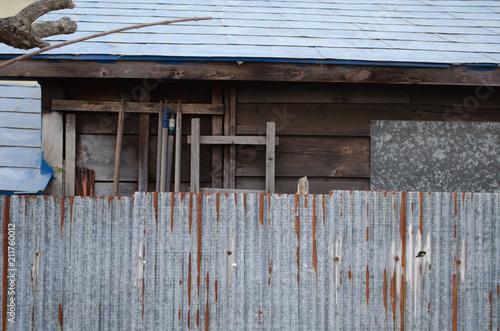 Fotografie, Obraz  古い家屋
