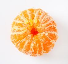 Peeled Ripe Tangerine