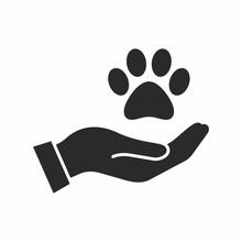 Pet Care, Adoption Vector Icon
