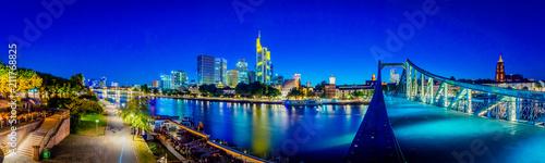 Fotobehang Donkerblauw Frankfurt am Main - Germany