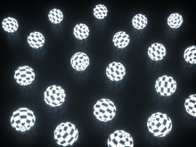 Illuminated Checker Pattern Ba...