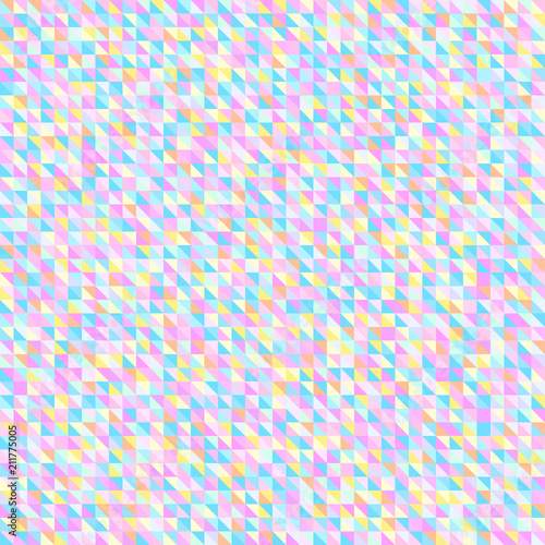 7d5a525340a6 Checkered background. Abstract triangle wallpaper. Pretty pastel ...