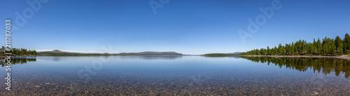 Staande foto Europa Ruhiger See
