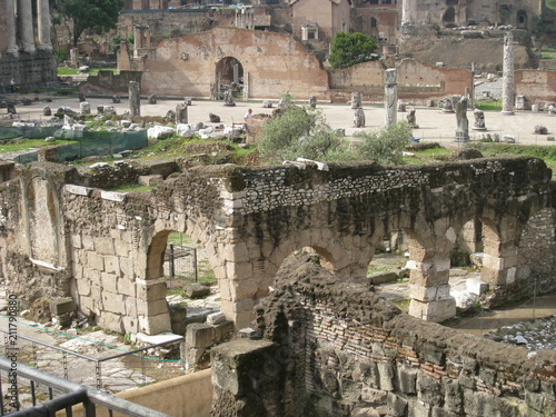 Deurstickers Oude gebouw ancient, architecture, old, rome, roman, europe, ruins, italy, travel, building, landmark, stone, city, matera, view, tourism, historic, landscape, panorama, history, town, sassi, spain, fort, amphith