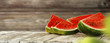 canvas print picture - summer photo of watermelon