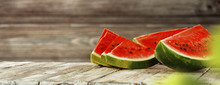 Summer Photo Of Watermelon