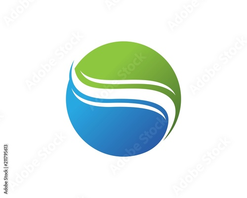 s letter water wave logos template vector icon buy this stock