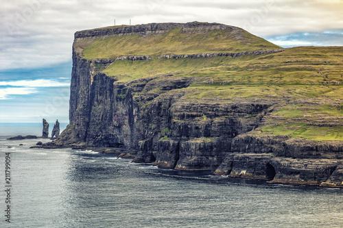 Staande foto Europa cliff view in faroe