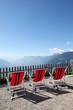 canvas print picture - Erholung in den Bergen
