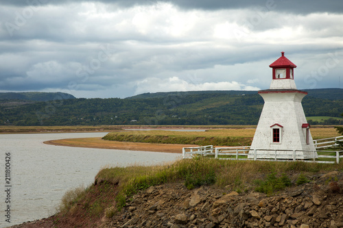 Wall Murals Lighthouse Anderson hollow lighthouse in New brunswick