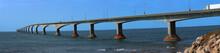 Confederation Bridge In Prince Edward Island In Canada
