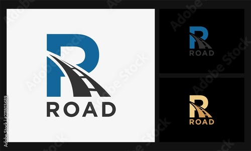 R road logo Canvas Print