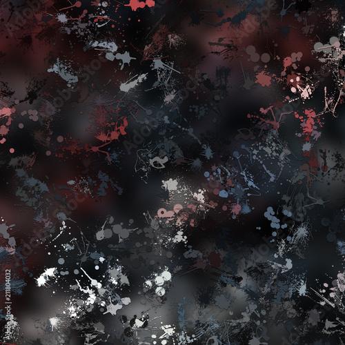 Fototapety, obrazy: Splatter Background 4000 x 4000 Illustration