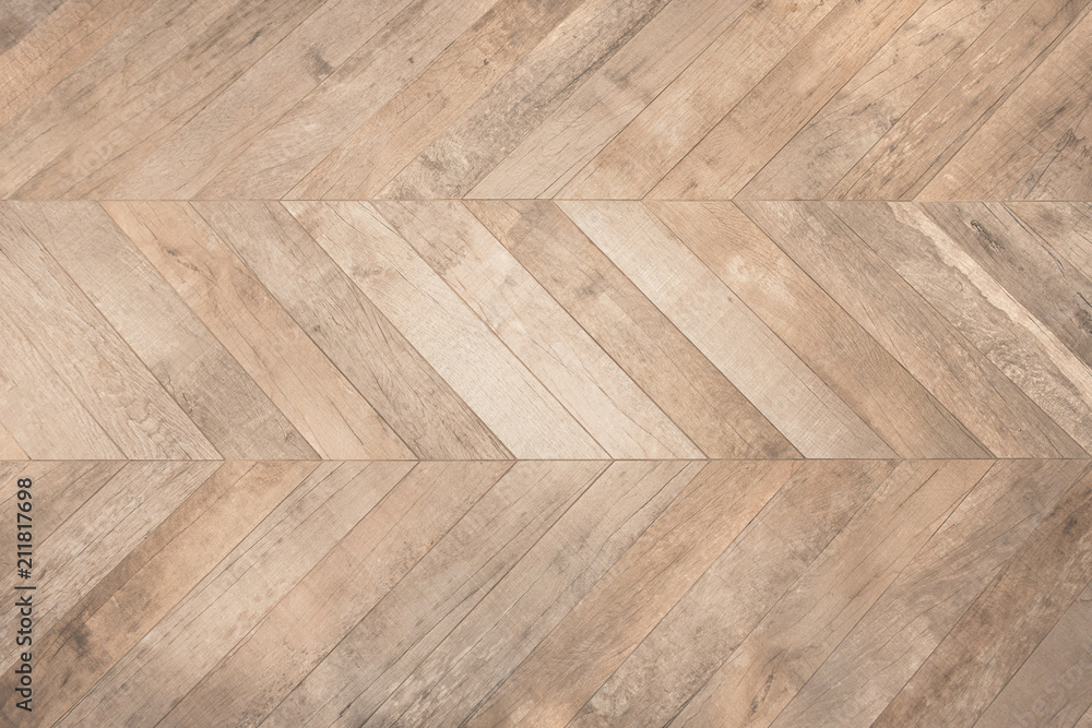 Fototapeta shaveron styled wood grain plank flooring - obraz na płótnie
