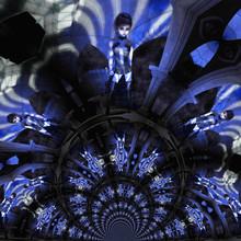 Digital Illustration Of A Gothic Female; Digital Model