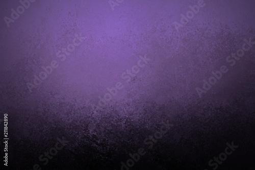 Purple Background With Black Grunge Texture Old Vintage Wallpaper Design