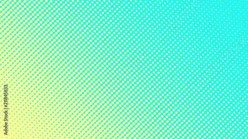 Fotografie, Obraz Halftone gradient pattern vector illustration