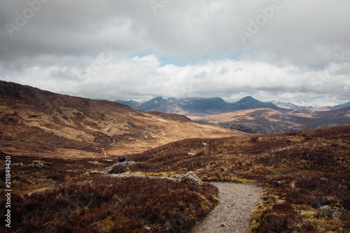 Tuinposter Landschappen Mamores, Highlands of Scotland