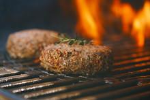 Lamb Burgers Spiced By Lamb Ru...
