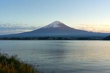 Mount Fuji, And Lake Kawaguchi...