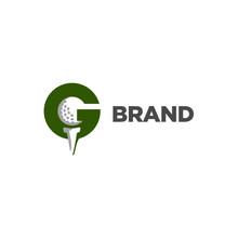 Golf Letter G Logo