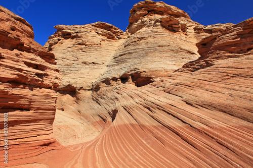 Papiers peints Corail The New Wave close up, Arizona