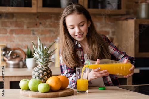 child health and development useful and tasty drink vitamin orange