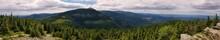 Panorama Sudetów W Karkonoskim Parku Narodowym