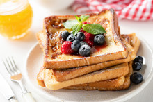 Delicious French Toast With Be...