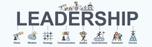Leadership Banner Web Icon For...