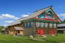 Open Air Museum In Semenkovo, Russia
