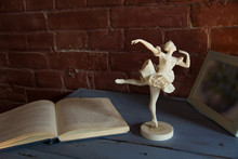 White Porcelain Figurine Of A ...