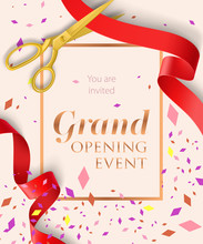 Grand Opening Event Lettering ...