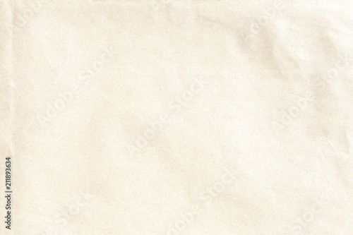 Acrylic Prints Stones in Sand Old crumpled brown paper texture