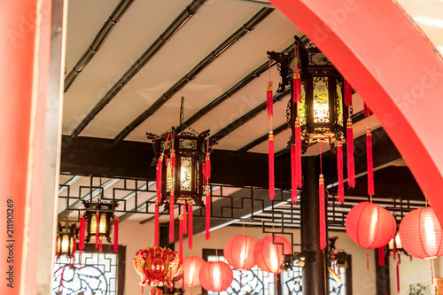 traditional Chinese Style Interior decoration Poster
