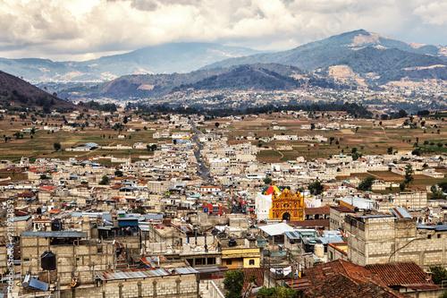 Fotobehang Centraal-Amerika Landen San Andrés Xecul, Guatemala