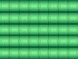 Leinwanddruck Bild - Green door pattern background
