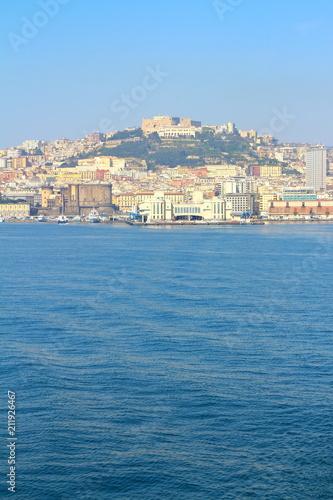 Spoed Foto op Canvas Napels Naples skyline, Italy