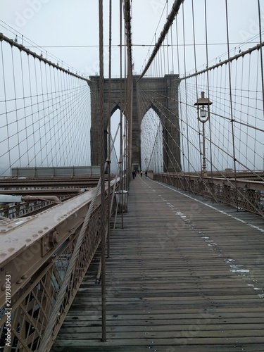 Foto op Aluminium Brooklyn Bridge Brooklyn bridge - New York